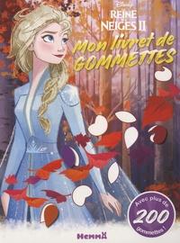 Téléchargement gratuit d'ebook pour pc Mon livret de gommettes La reine des neiges 2 CHM RTF par Disney