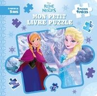 Disney - Mon petit livre puzzle La Reine des Neiges.
