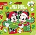 Disney - Mon petit livre puzzle Mickey et ses amis - C'est Noël !.