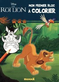 Disney - Mon premier bloc à colorier Le Roi Lion (Simba).