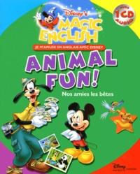 Disney - Nos amies les bêtes : Animal Fun!. 1 CD audio