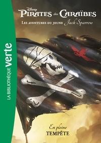 Disney et Rob Kidd - Pirates des Caraïbes - Les aventures du jeune Jack Sparrow Tome 1 : En pleine tempête.
