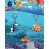 Disney Pixar - 3 porte-clés 3D Finding Dory.