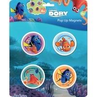 Disney Pixar - 4 magnets pop-up Finding Dory.