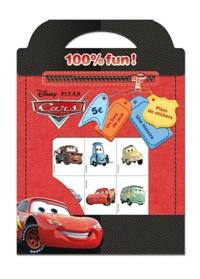 Disney Pixar - Cars 100% fun ! - Un livre de jeux, une histoire, plein de stickers.
