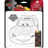 Disney Pixar - Cars 3 - Puzzle colouring set.