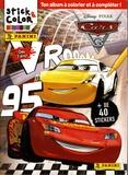 Disney Pixar - Cars 3 - Ton album à colorier et à compléter !.