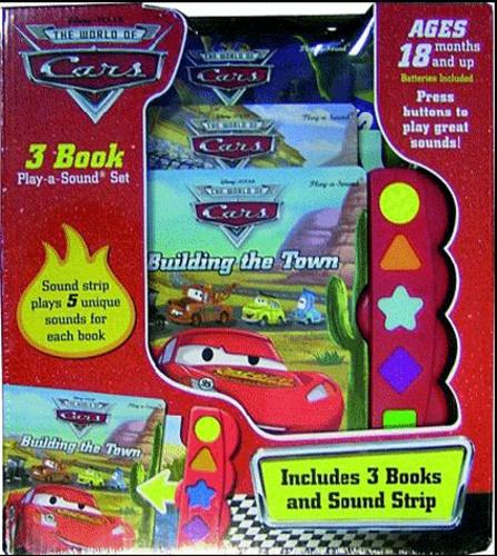 Disney Pixar - Cars - Coffret 3 volumes : Vive Radiator Springs ! A toute vitesse ! Vision de nuit.