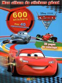 Disney Pixar - Cars - Mon album de stickers géants.