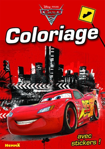Coloriage Cars 2 Grand Format
