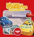 Disney Pixar - Décors et gommettes Cars - 40 gommettes + 4 décors.