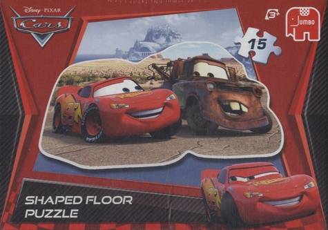 Disney Pixar - Disney Pixar Cars - Shaped Floor Puzzle.