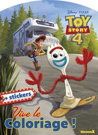 Disney Pixar - Disney Toy Story 4 - Avec stickers.