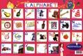 Disney Pixar - J'apprends l'alphabet avec Rémy - Set de table Ratatouille.