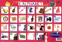 Disney Pixar - J'apprends l'alphabet avec Rémy - Set de table Ratatouille.