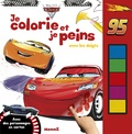 Disney Pixar - Je colorie et je peins avec les doigts Cars 3 - Avec des personnages en carton.