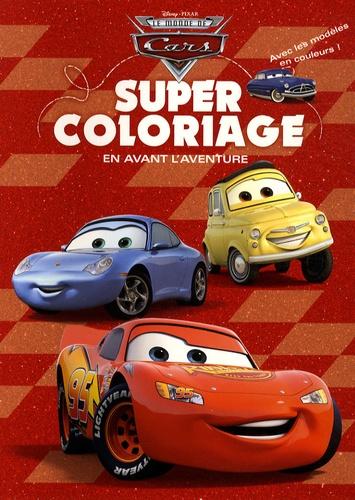 Disney Pixar - Le monde de Cars - Super coloriage en avant l'aventure.