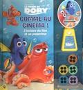 Disney Pixar - Le monde de Dory - Comme au cinéma ! L'histoire du film et un projecteur.