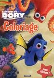 Disney Pixar - Le monde de Dory - Coloriage avec stickers.