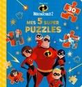 Disney Pixar - Les Indestructibles 2 - Mes 5 super puzzles (30 pièces).