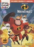 Disney Pixar - Les indestructibles 2 - Ton album à colorier et à compléter, + de 40 stickers, Dès 3 ans.