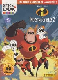 Téléchargement de livres électroniques gratuits pdf Les indestructibles 2  - Ton album à colorier et à compléter, + de 40 stickers par Disney Pixar (Litterature Francaise) 9782809470796