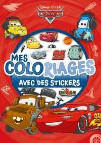 Disney Pixar - Mes 95 coloriages avec des stickers Cars.