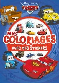 Disney Pixar - Mes coloriages avec des stickers Cars.