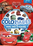Disney Pixar - Mes coloriages Cars avec des stickers.