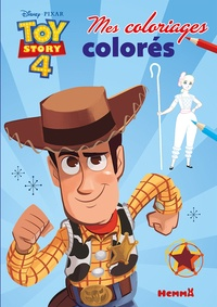 Disney Pixar - Mes coloriages colorés Disney Toy Story 4.