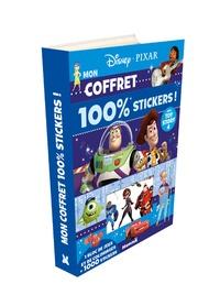 Disney Pixar - Mon coffret 100 % stickers ! Avec Toy Story 4 - 1 bloc de jeux et de coloriages + 1000 stickers.