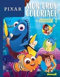 Disney Pixar - Mon gros coloriage Nemo et Dory - Avec des stickers.