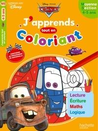 Accentsonline.fr Moyenne Section Cars j'apprends tout en coloriant Image