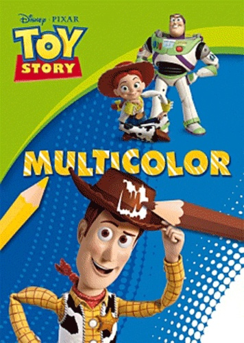Disney Pixar - Multicolor Toy story.