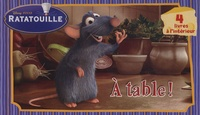 Disney Pixar et Franck Berrios - Ratatouille  : A table ! - Coffret en 4 volumes : Colette ; Rémy ; Emile ; Linguini.