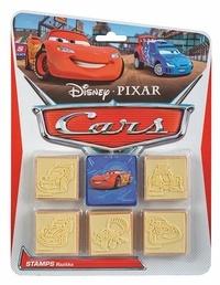 Disney Pixar - Tampons Cars - Avec 5 tampons.