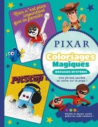Disney et Raphaël Hadid - Pixar - Coloriages magiques - Messages mystères.