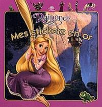 Disney - Raiponce - Mes stickers en or.