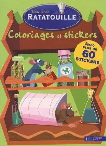 Disney - Ratatouille  : Coloriages et stickers.