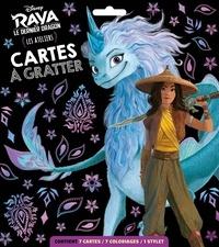 Disney - RAYA ET LE DERNIER DRAGON - Pochette Les Ateliers - Cartes à gratter - Disney.