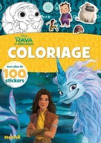 Disney - Raya et le dernier dragon - Avec plus de 100 stickers.