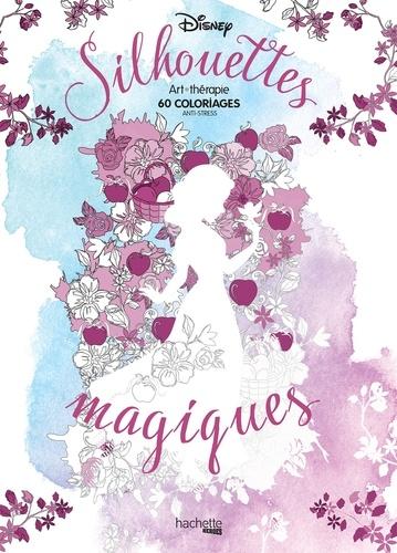 Silouhettes Magiques 60 Coloriages Disney Grand Format
