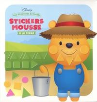 Disney - Stickers mousse à la ferme - Avec 6 grands tableaux et 168 stickers.