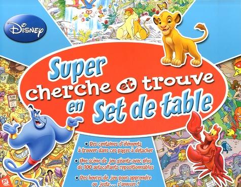 Super Cherche Et Trouve En Set De Table