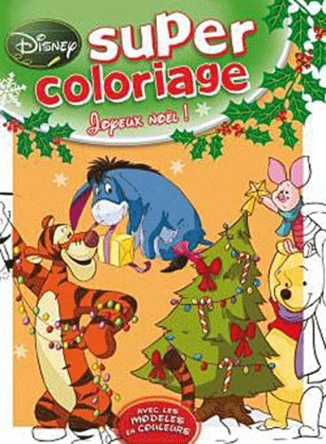 Disney - Super coloriage Joyeux Noël !.