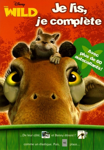 Disney - The Wild - Je lis, je complète.