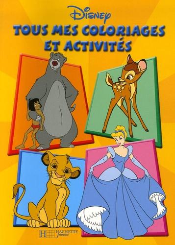 Disney - Tous mes coloriages et activités.