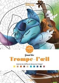 Disney et Eugénie Varone - Trompe-l'oeil - 50 coloriages anti-stress.