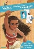 Disney - Vaiana, la légende du bout du monde - Avec 8 pages de papier-calque et des stickers.