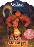 Disney et Nathalie Wilkin - Vive le coloriage ! Vaiana, La légende du bout du monde - + Stickers.